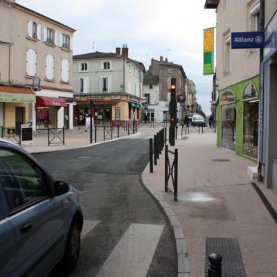 Rues de Verdun et du 8 mai