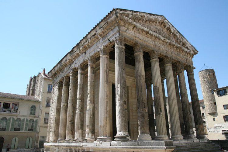 Temple d'Auguste et Livie à Vienne